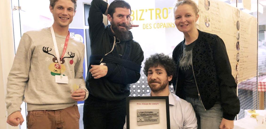 Helpy, prix coup de cœur au Start up WE Lyon Jeux Vidéo