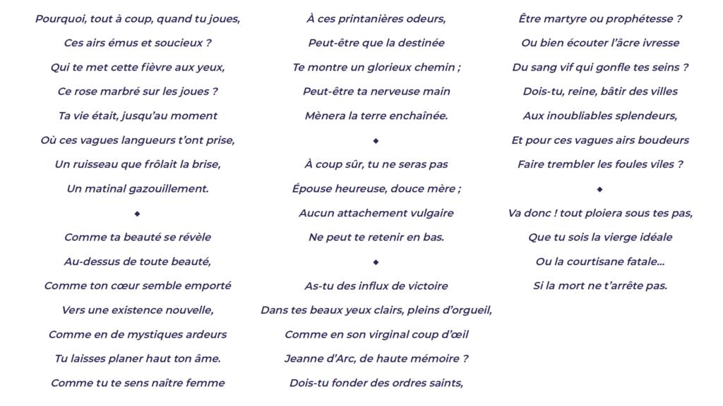 Poeme Charles Cros