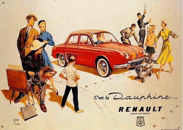publicité Renault Dauphine